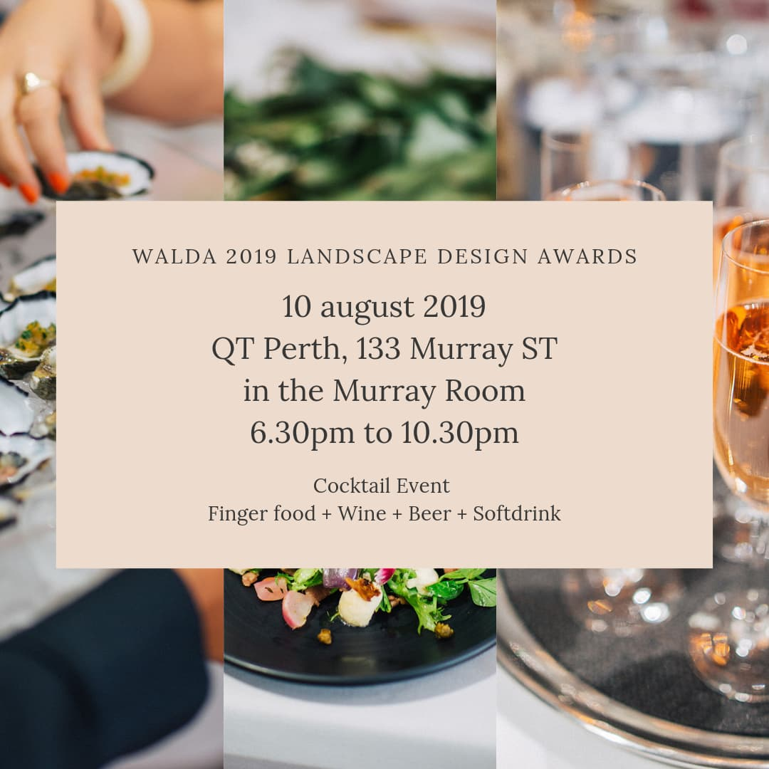 WALDA 2019 Landscape Design Awards