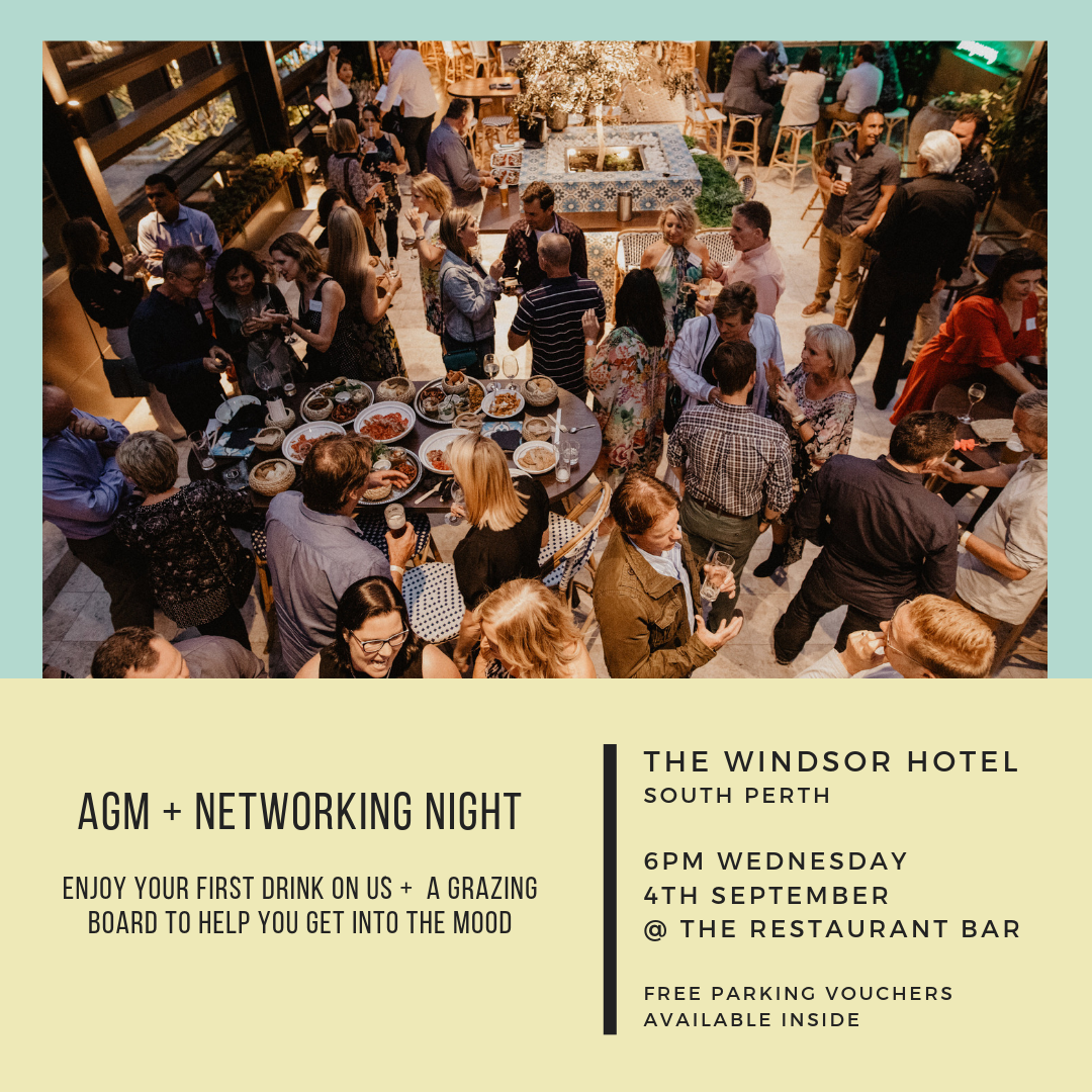 WALDA AGM + Networking Night