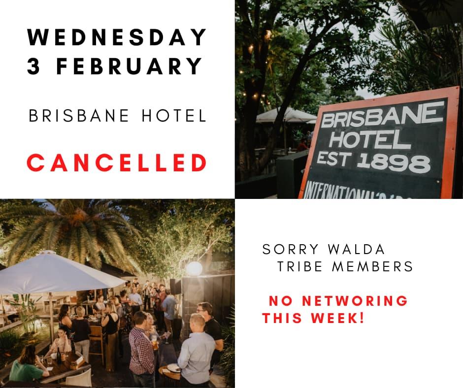 WALDA Networking – Cancelled