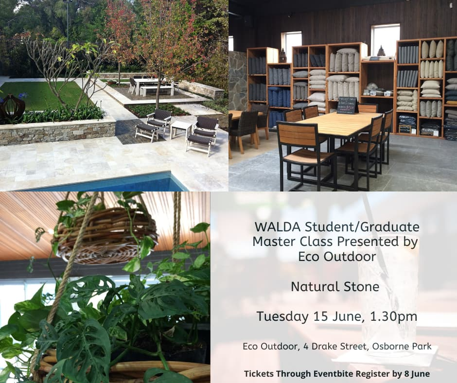WALDA Student/Graduate Master Class – Presented By Eco Outdoor